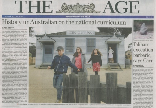 The-Age-10-July-2012-Australian-Curriculum-History