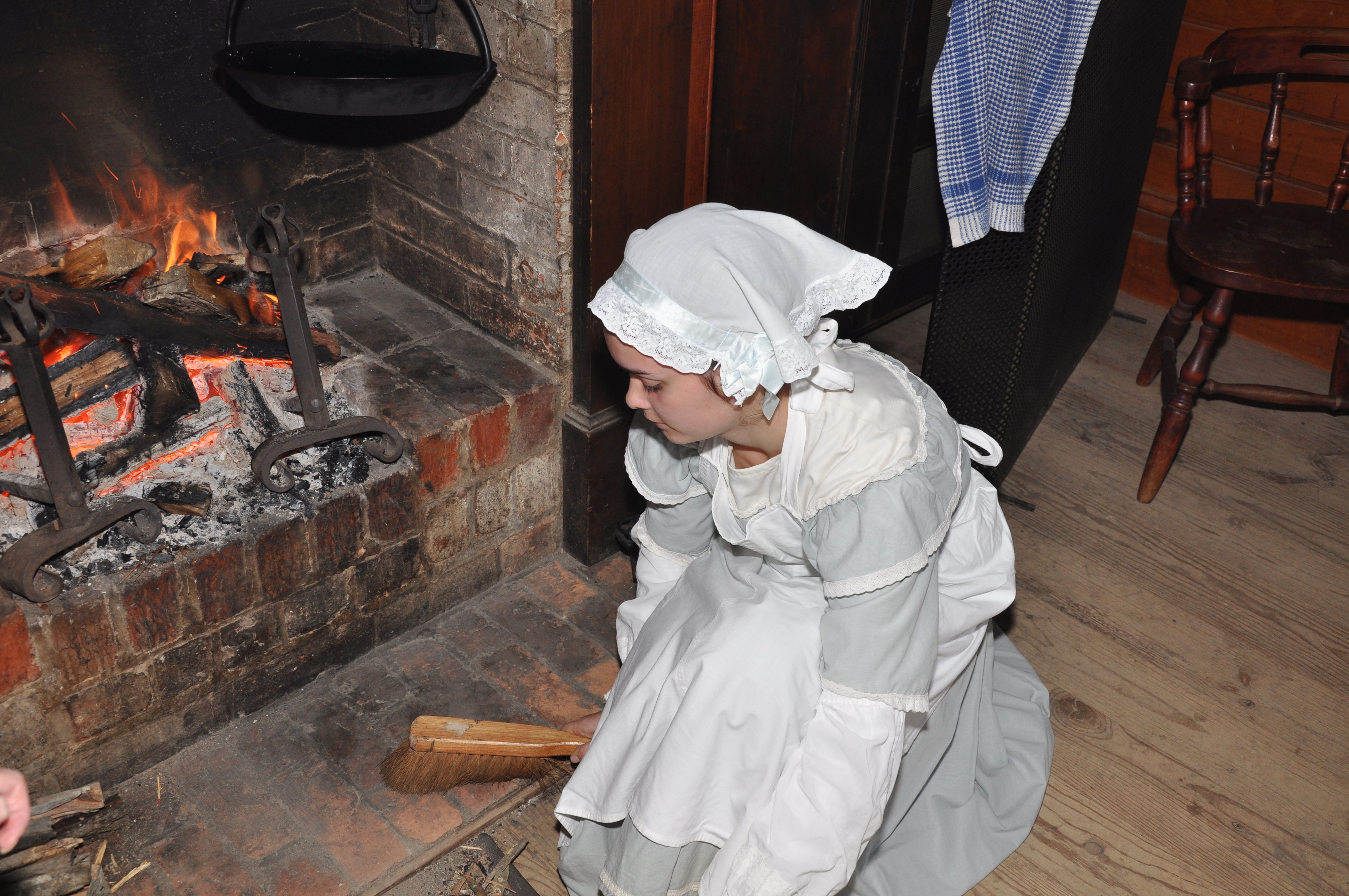 Household Arts Of The 1850s Sweeping Beating And