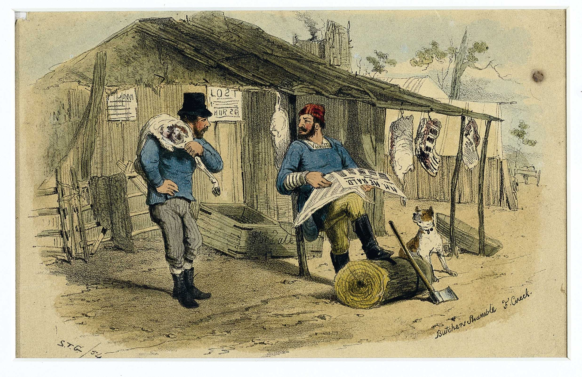What was eaten on the Goldfields? | Sovereign Hill Education