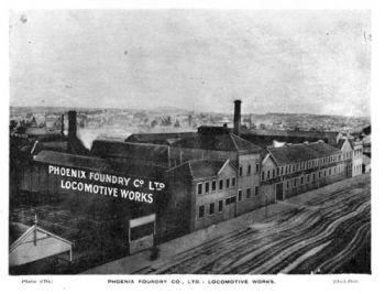 Phoenix Foundry Machine Shop. University of Ballarat Historical Collection.
