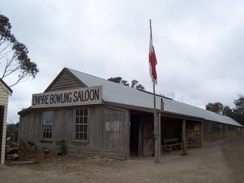 Empire Bowling Saloon, Sovereign Hill.