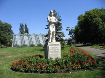 Statue of William Wallace, Scottish Warrior and Hero. Ballarat Botanical Gardens.