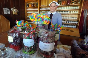 Sovereign Hill's Confectionery shop