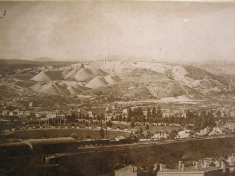 Black hill and Railway - 1874