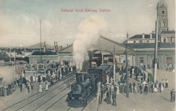 Ballarat West Railway Station