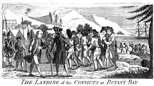 TheLangingoftheConvictsatBotanyBay Watkin Tench 1789